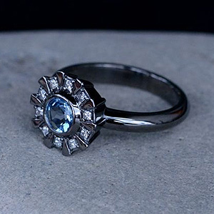 Arc Reactor Engagement Ring