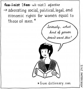 Definition of a feminist