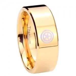 Captain America Wedding Ring