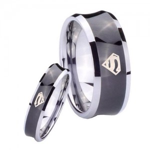 Superman Wedding Bands