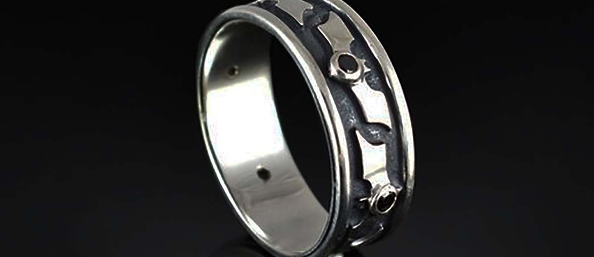 alloy tibet superhero ring jewelry fine monster of elegant punk lovely black wedding rings bands pics