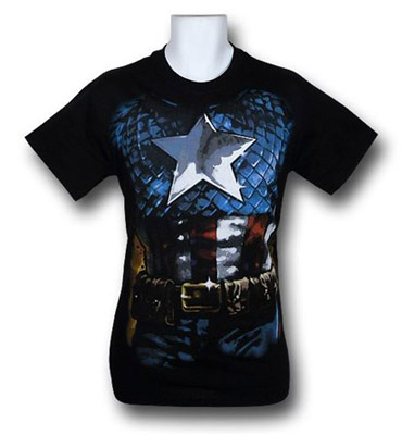 Captain America costume shirt