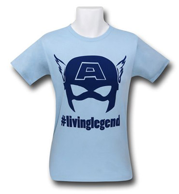 Captain America Living Legend shirt
