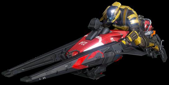 """GameStop exclusive """"Sparrow"""" speeder bike"""