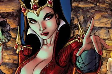 Alé Garza artwork for The Blood Queen #1