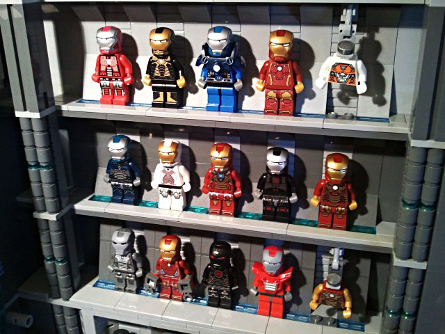 Check Out This Amazing Custom Lego Stark Industries Armory