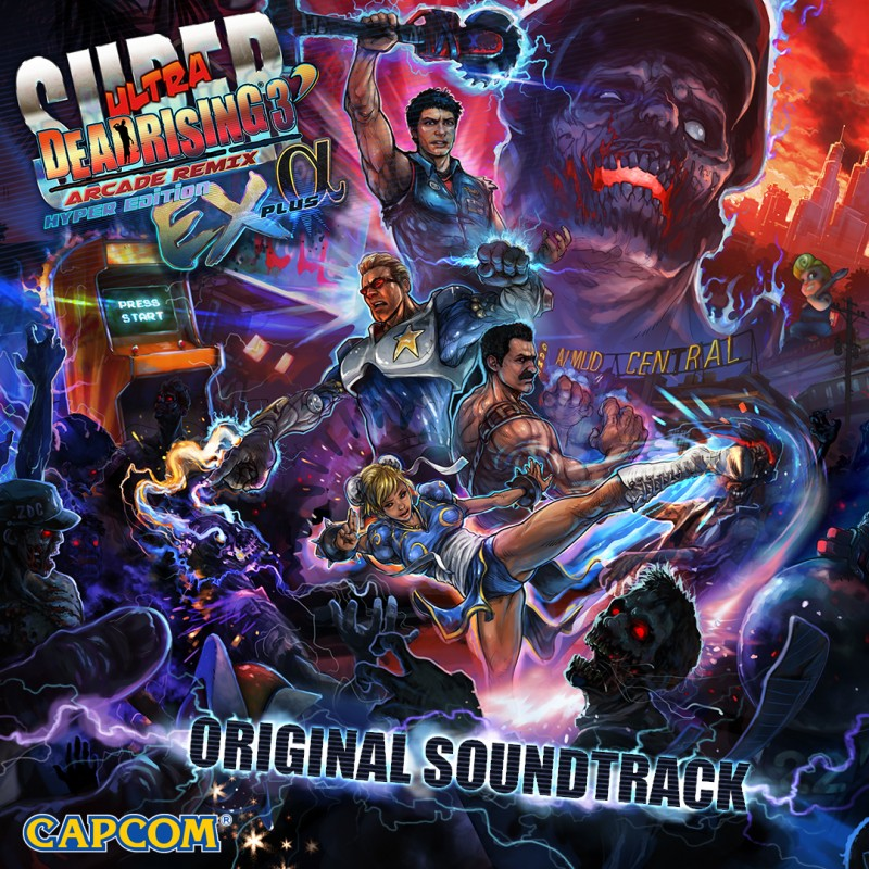 Super DR3_OST cover