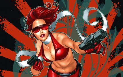 Painkiller Jane Cover art by Alecia Rodriguez