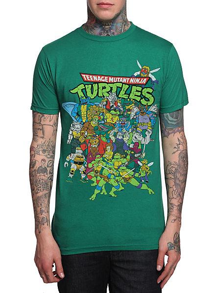 Image Gallery Ninja Turtles 2014 T Shirts