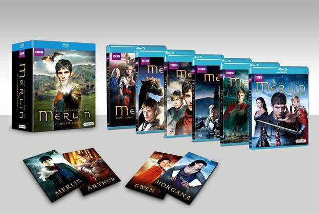 Merlin-complete-blu-ray-set