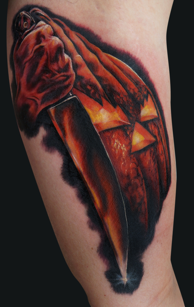 Make Your Flesh Crawl with These Halloween Tattoos! - Freaksugar