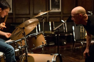 J.K. Simmons and Miles Teller in WHIPLASH