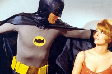 Adam West and Jill St. John