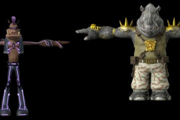 Nick's bebop and Rocksteady Designs