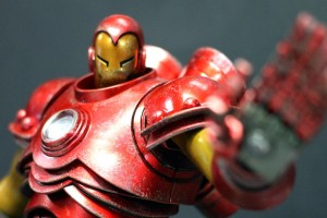 sixth scale threea classic iron man