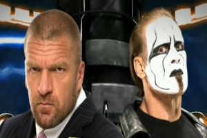 Triple H and Sting Meet Face to Face at WWE Fast Lane!