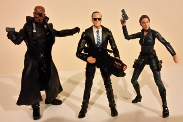 S.H.I.E.L.D. 3 Pack In Action