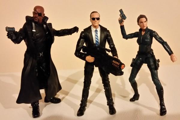 S.H.I.E.L.D. 3 Pack In Action