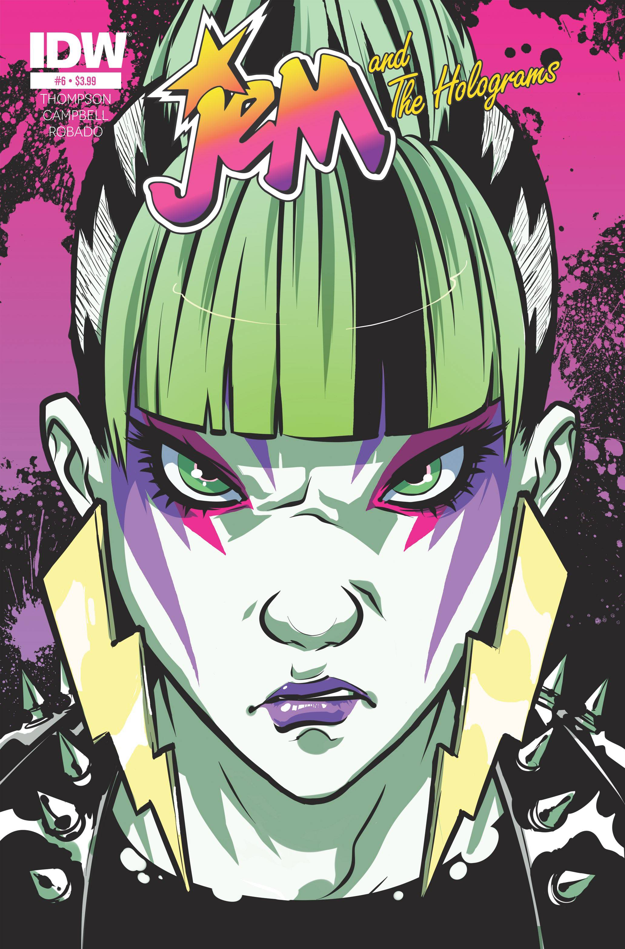 Jem and the Holograms #6