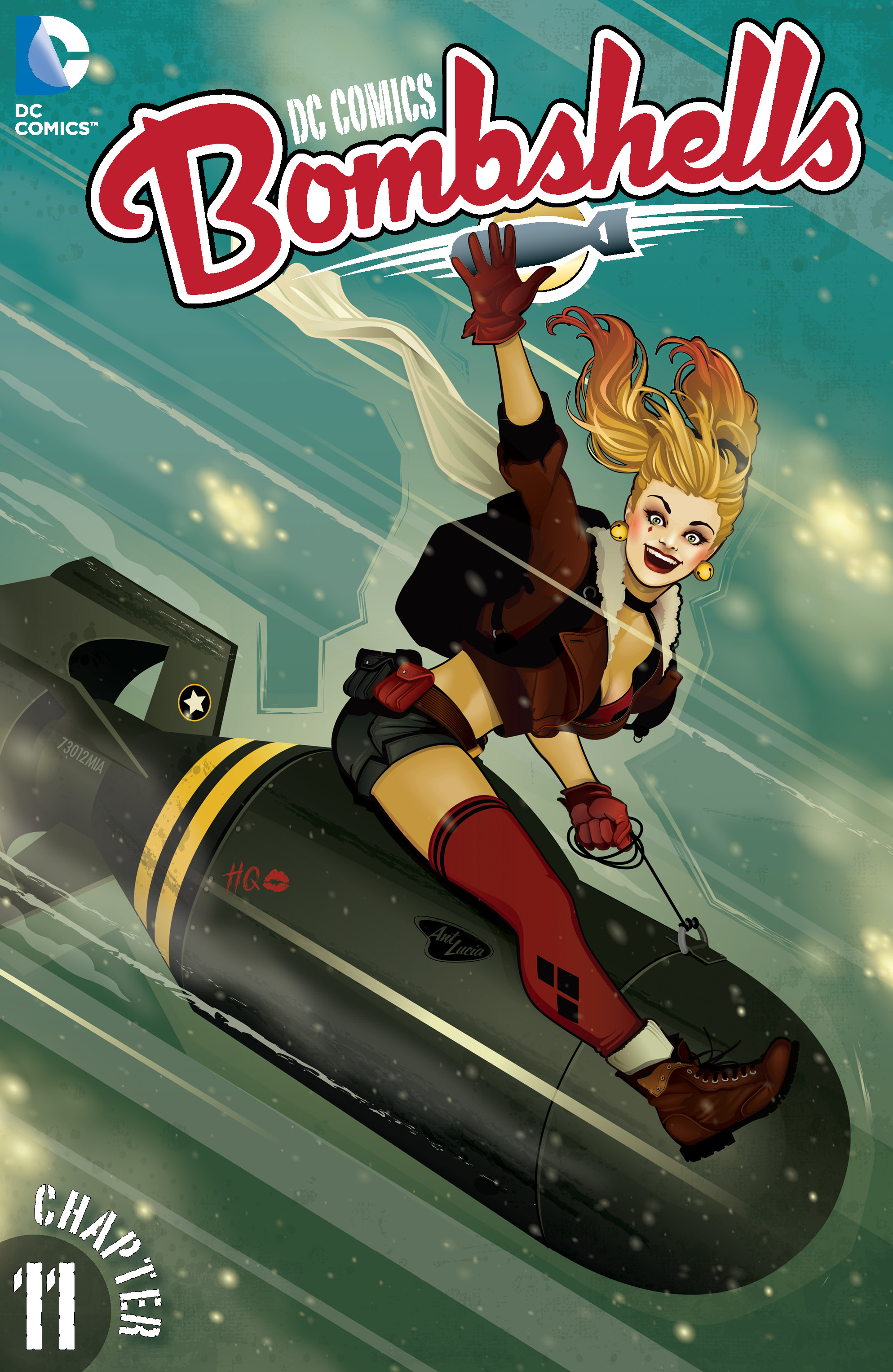 DC COMICS BOMBSHELLS #11 cover