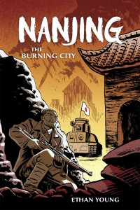 Nanjing: The Burning City art by Ethan Young