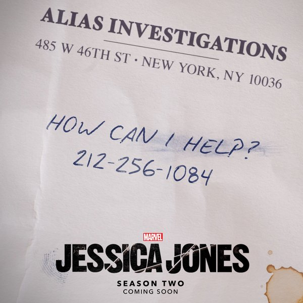 MARVEL'S JESSICA JONES: Season 2 Announcement!