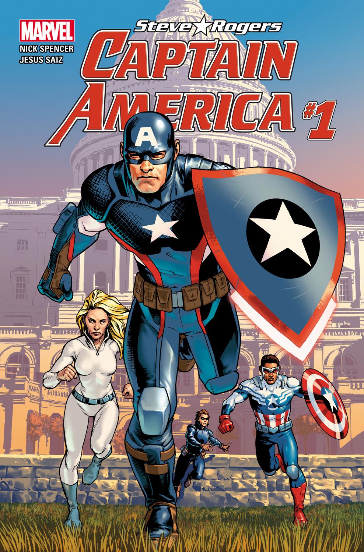 CAPTAIN AMERICA: STEVE ROGERS #1 cover