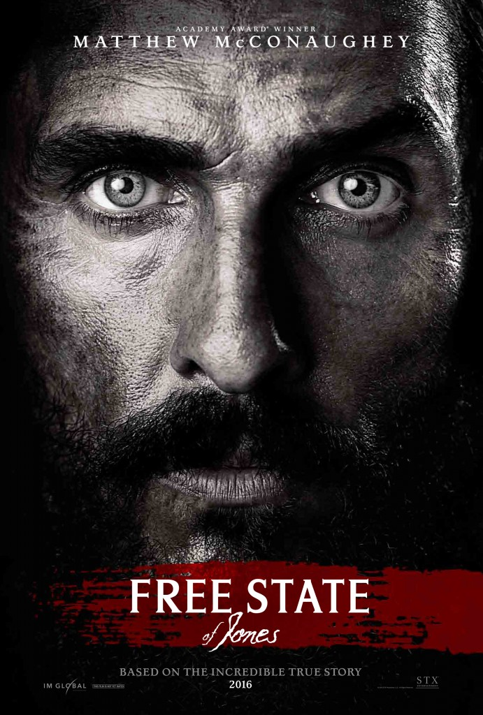 FREE STATE OF JONES theatrical poster