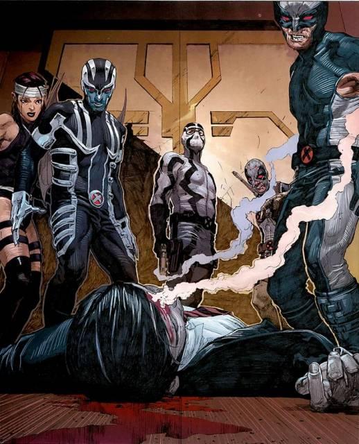 Fantomex kills Evan.