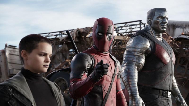Negasonic Teenage Warhead, Deadpool, and Colossus