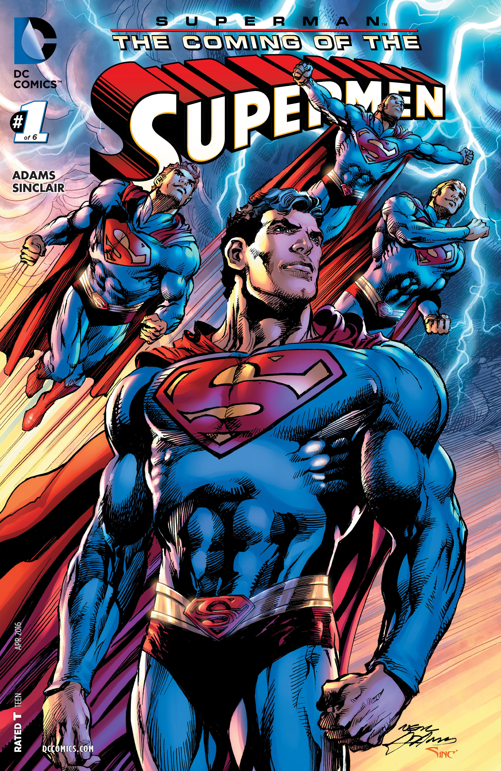 SUPERMAN: COMING OF THE SUPERMEN #1 cover