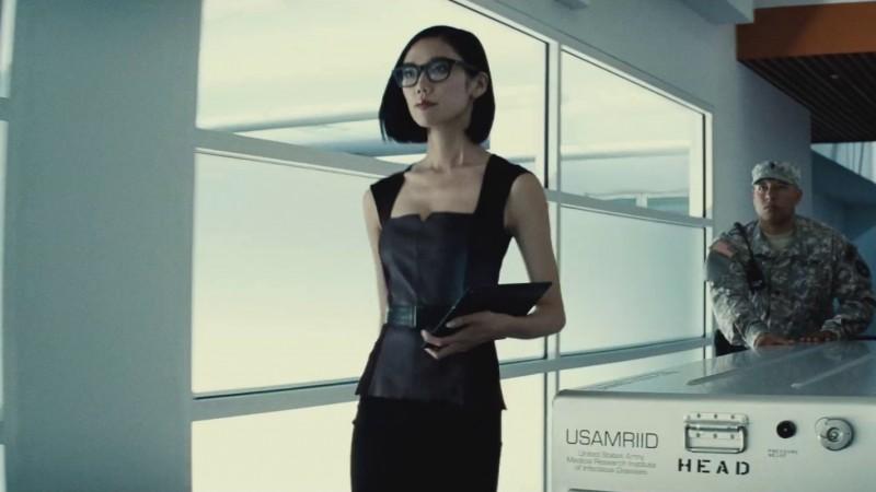 Tao Okamoto as Mercy Graves in BATMAN V SUPERMAN