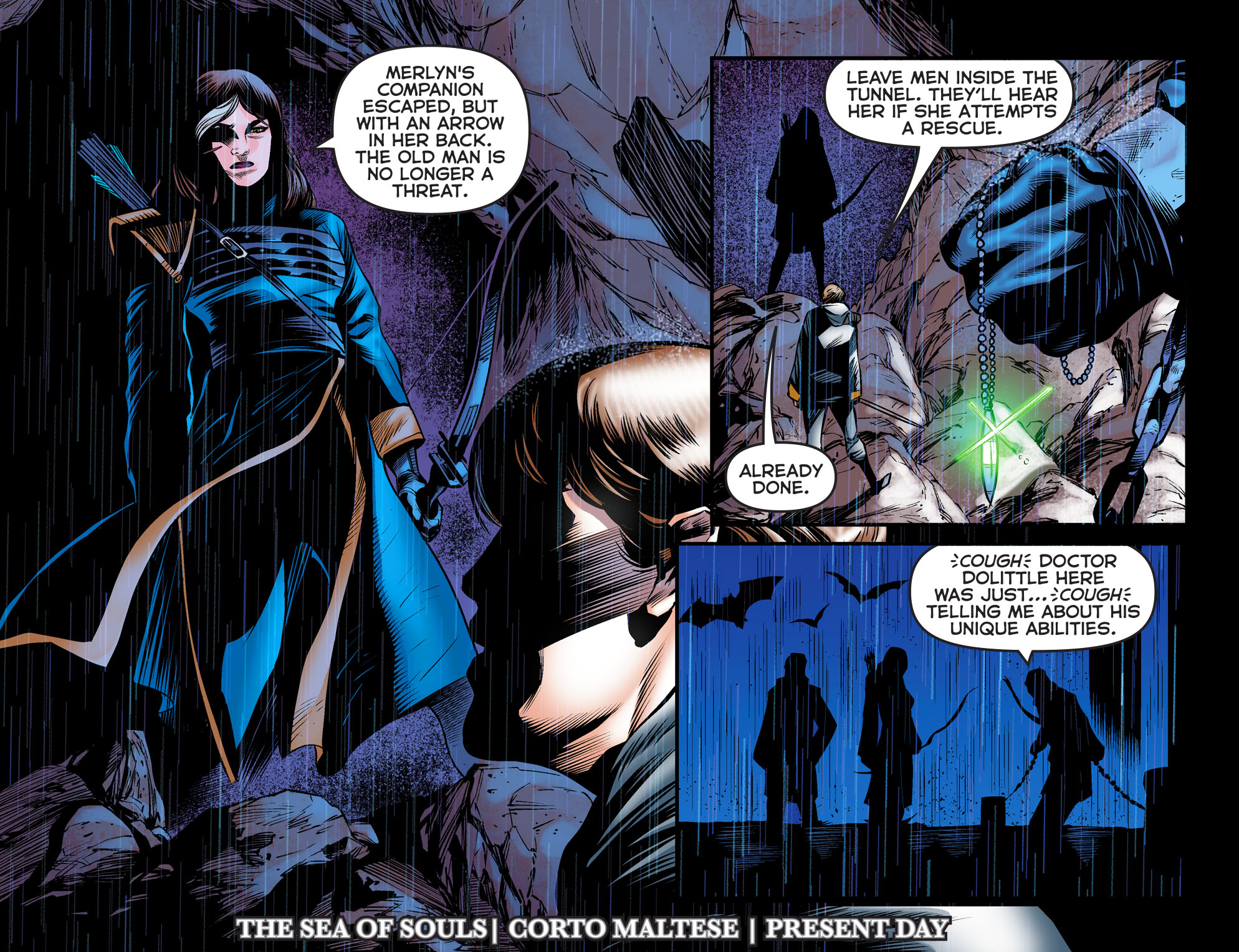ARROW: DARK ARCHER Chapter 6 panel 3
