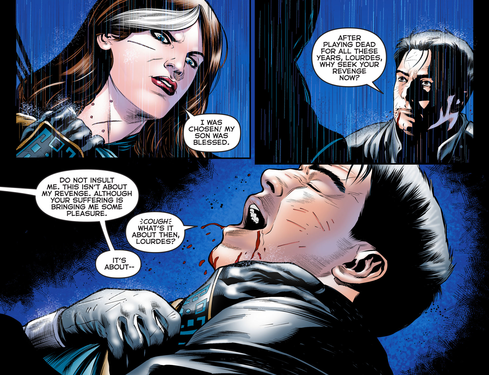ARROW: DARK ARCHER Chapter 6 panel 4