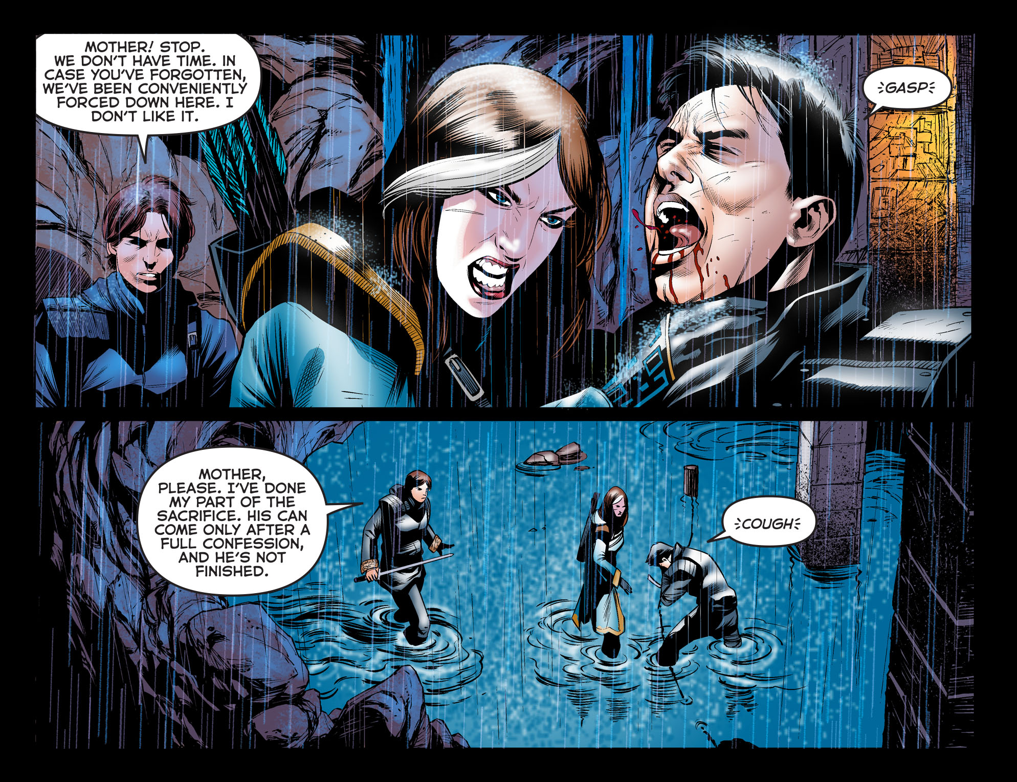 ARROW: DARK ARCHER Chapter 6 panel 5