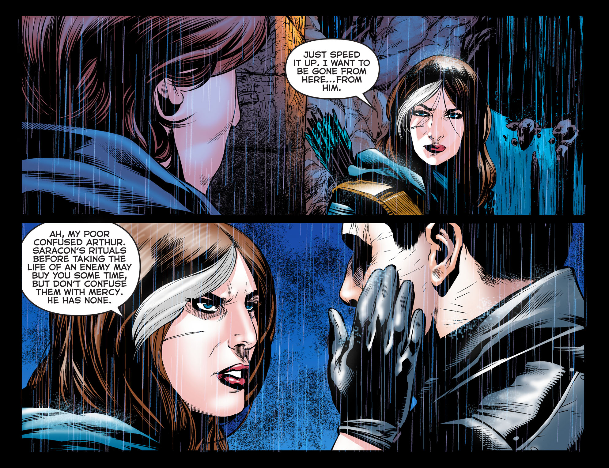 ARROW: DARK ARCHER Chapter 6 panel 6