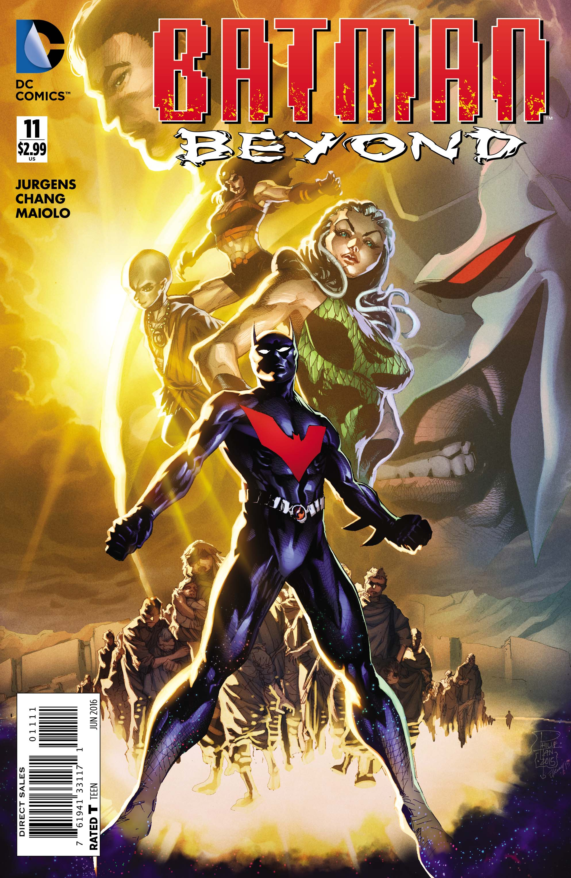 BATMAN BEYOND #11 cover