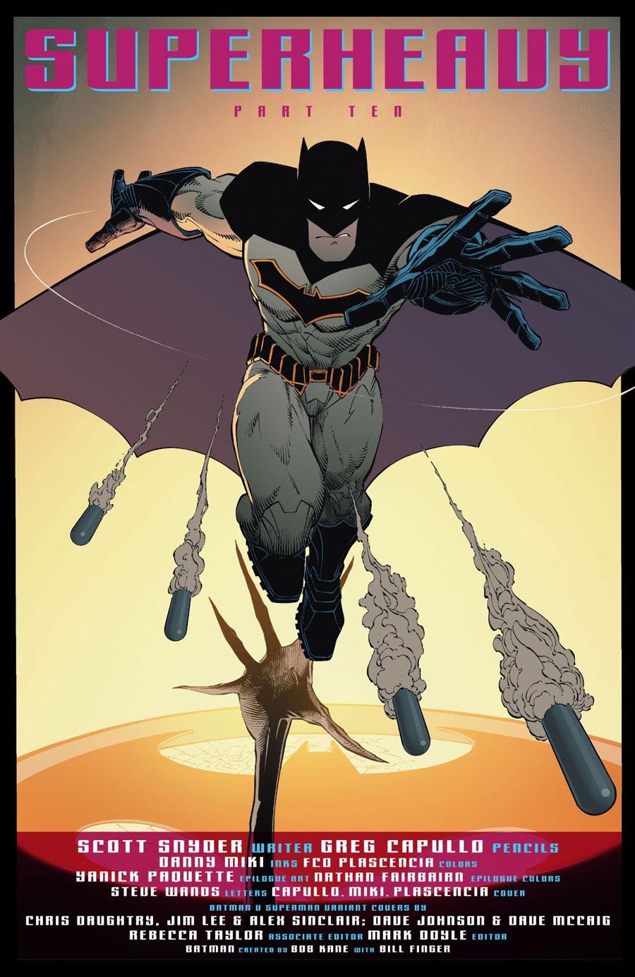 Batman's new costume