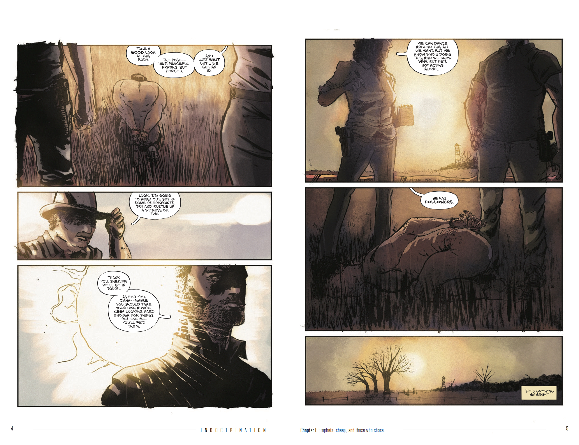 INDOCTRINATION #1 pages 5-6
