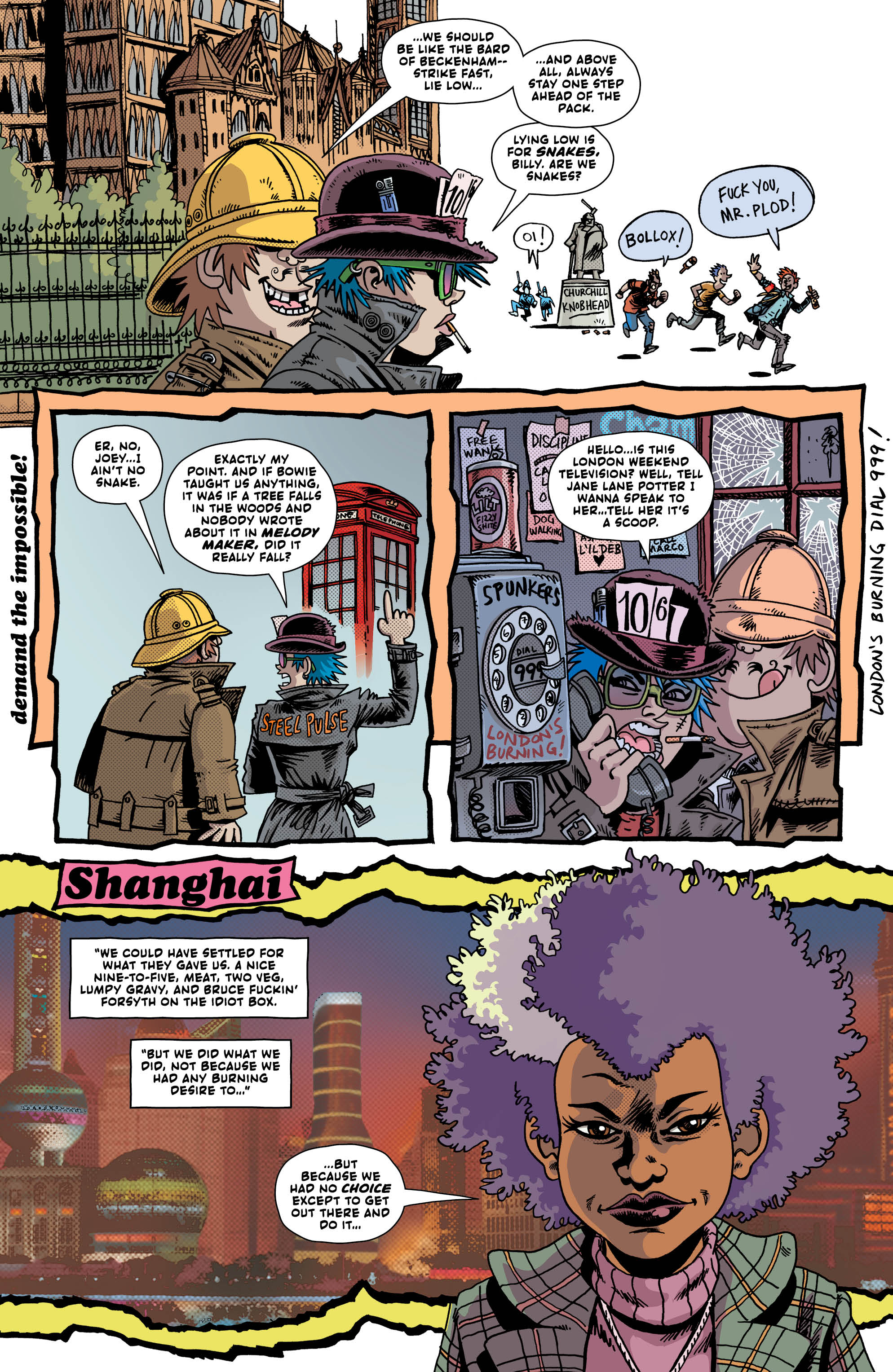 LAST GANG IN TOWN #4 page 2