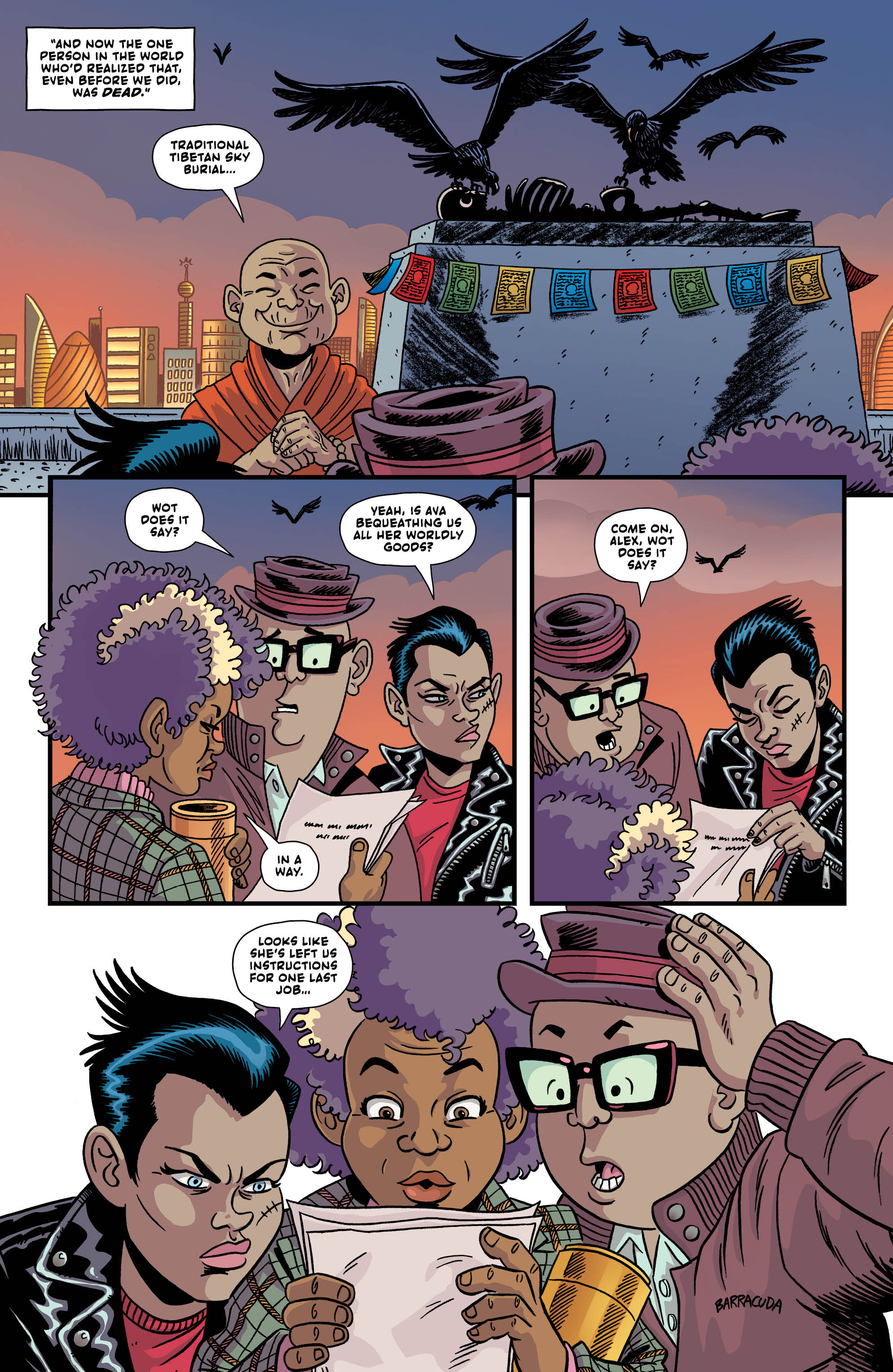 LAST GANG IN TOWN #4 page 3