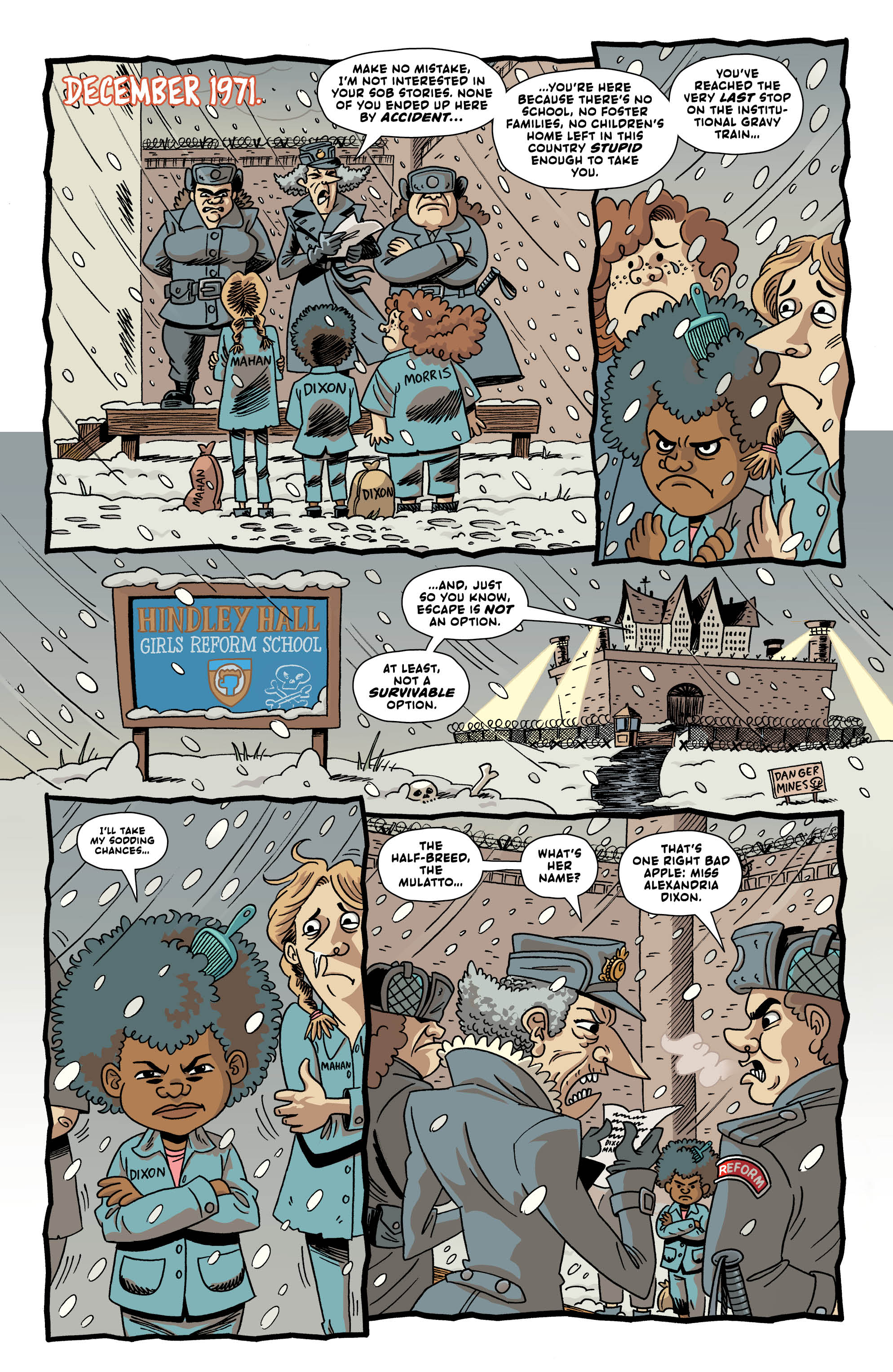 LAST GANG IN TOWN #4 page 4