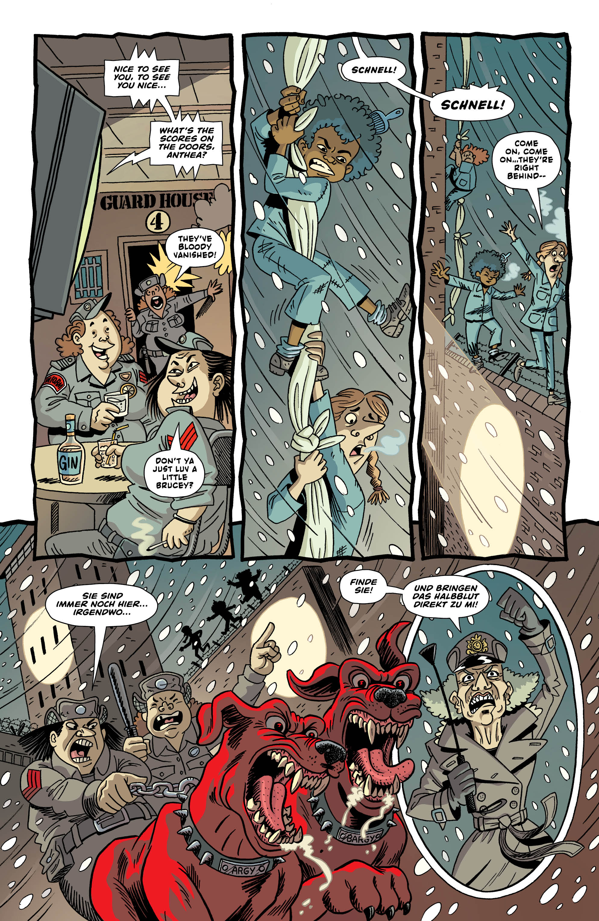 LAST GANG IN TOWN #4 page 5