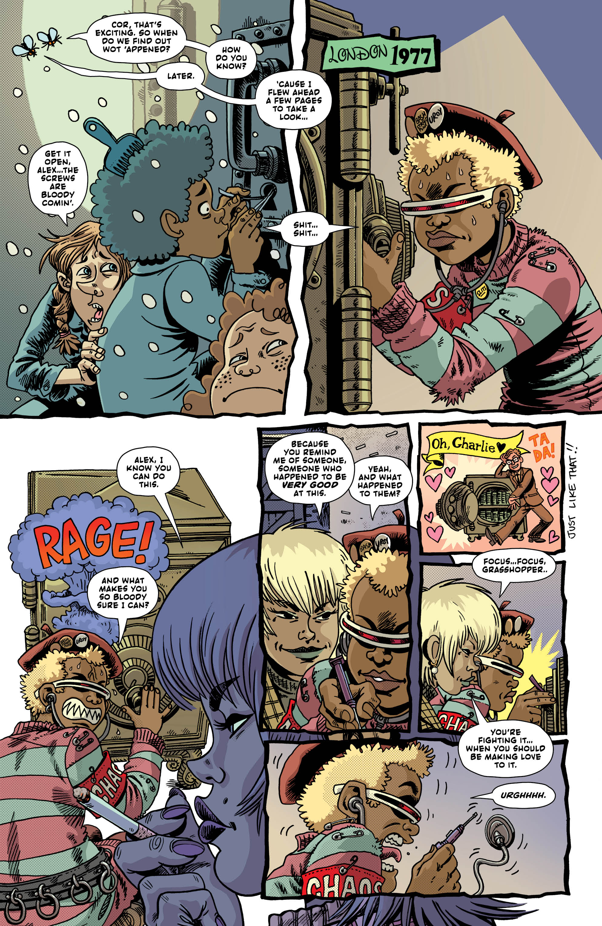 LAST GANG IN TOWN #4 page 6