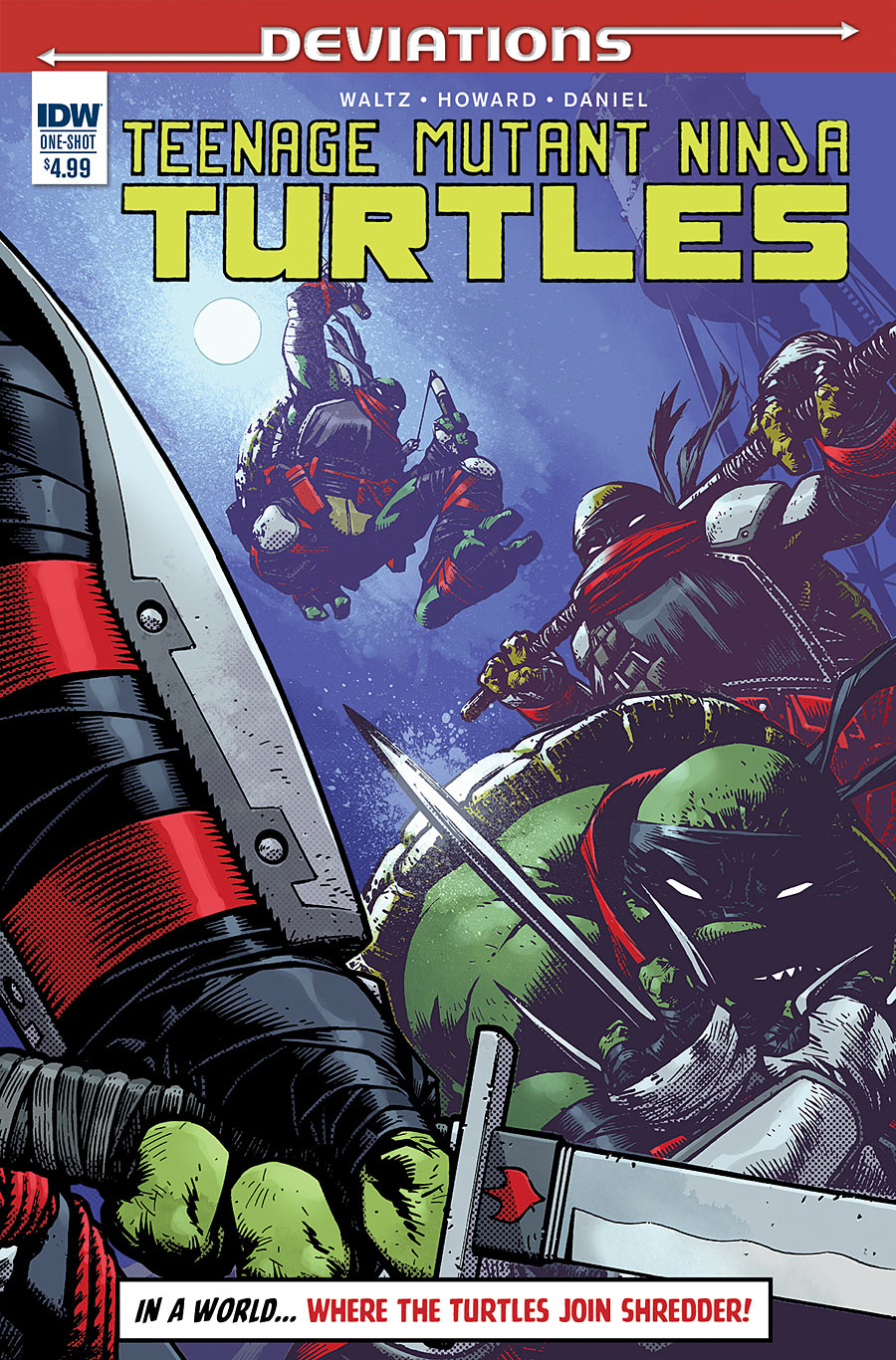 TEENAGE MUTANT NINJA TURTLES: DEVIATIONS