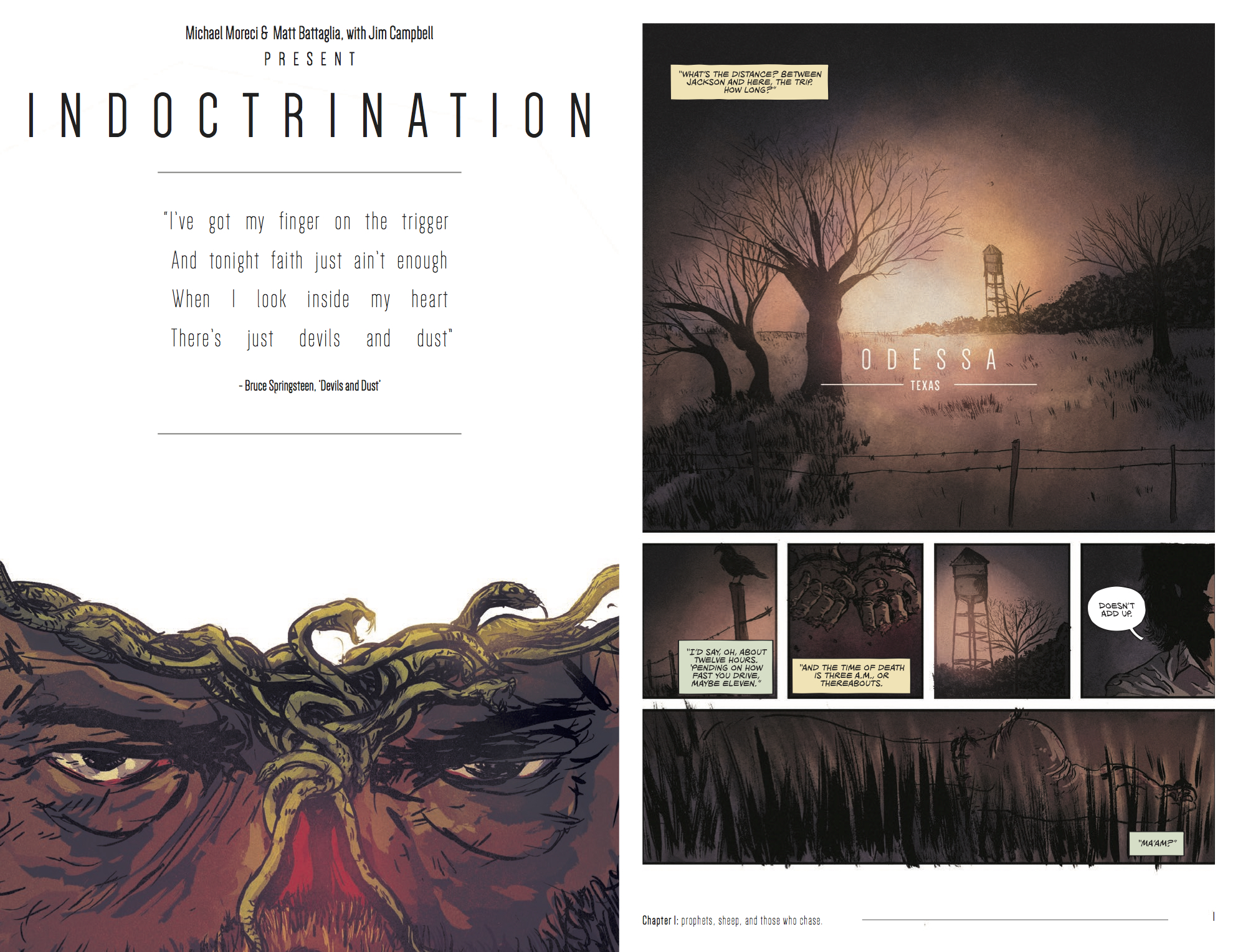 INDOCTRINATION #1 pages 1-2