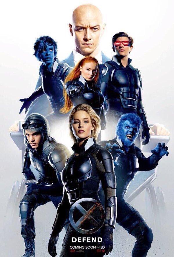 X-MEN: APOCALYPSE heroes poster