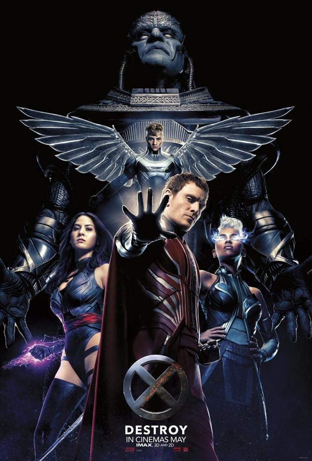X-MEN: APOCALYPSE villains poster