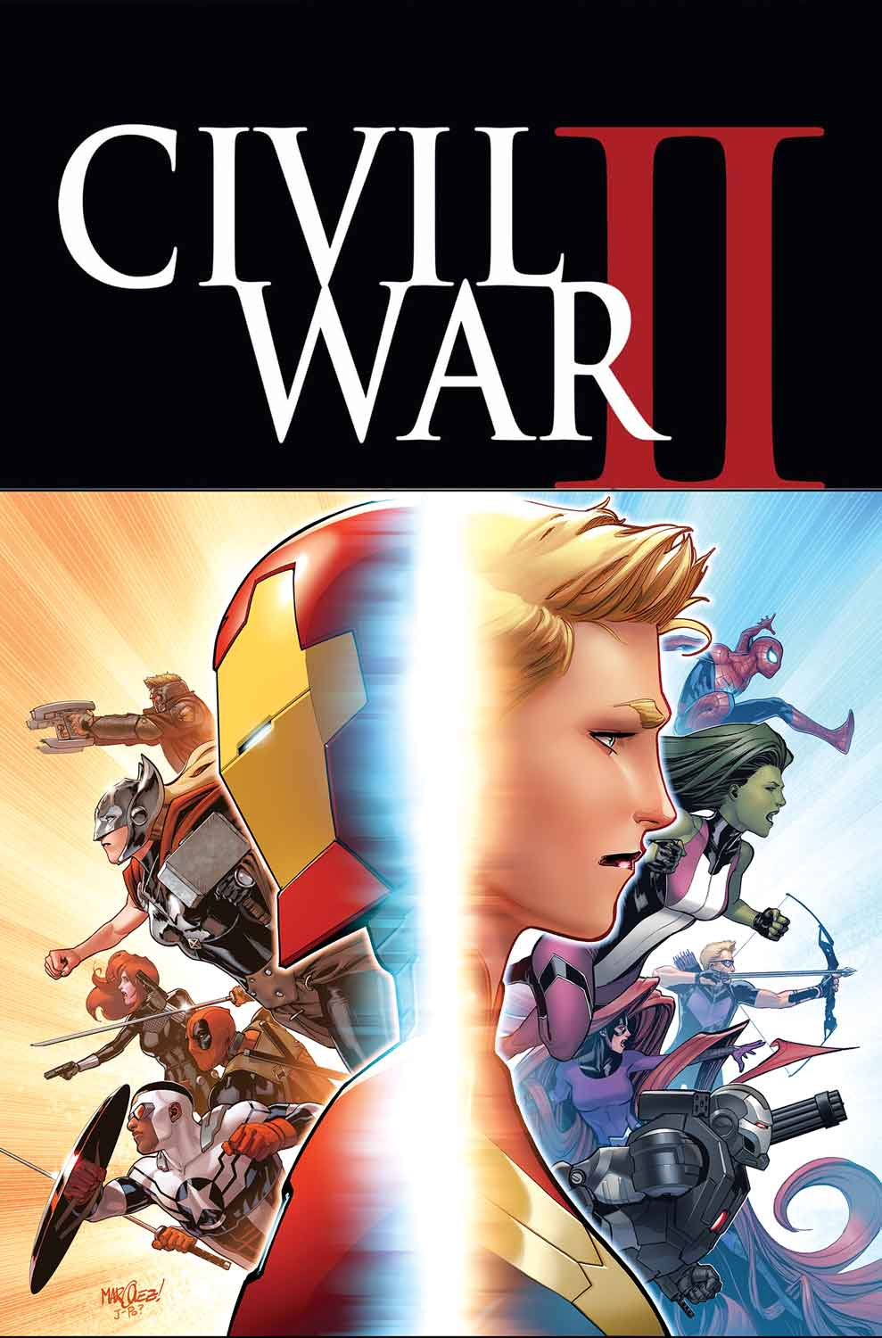 CIVIL WAR II #1 variant cover