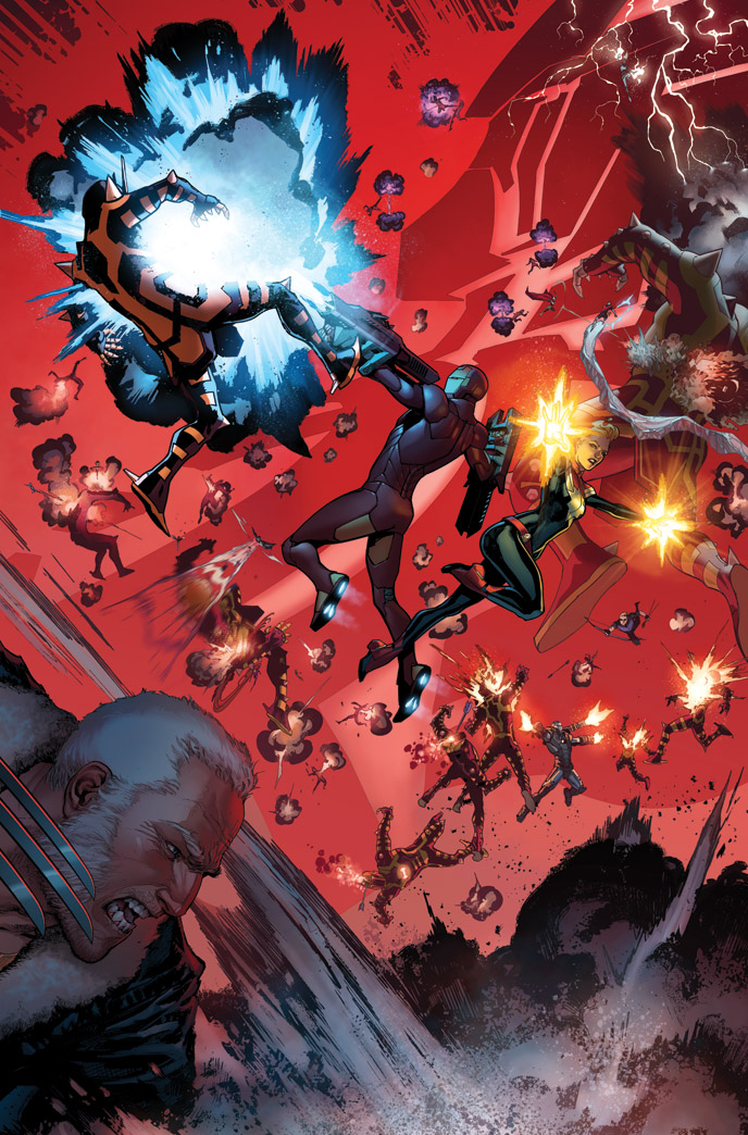 CIVIL WAR II #1 page 4